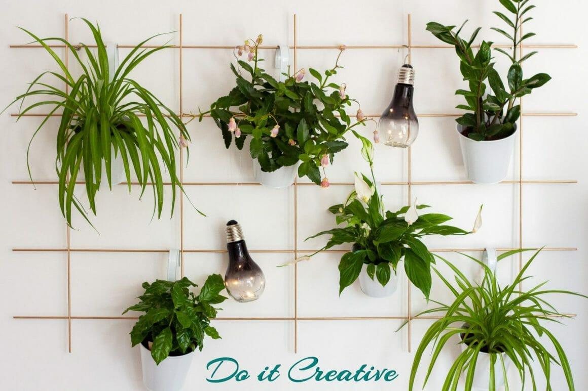 DIY Pflanzenwand – Plant Wall zum selber Bauen