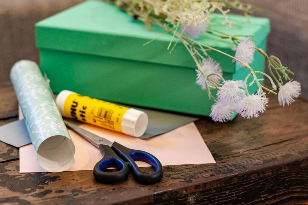 Materialien für den DIY Wellness Gutschein