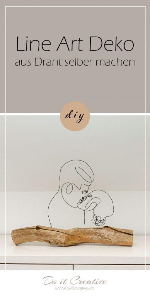 Pinn mich – Line Art Deko aus Draht selber machen