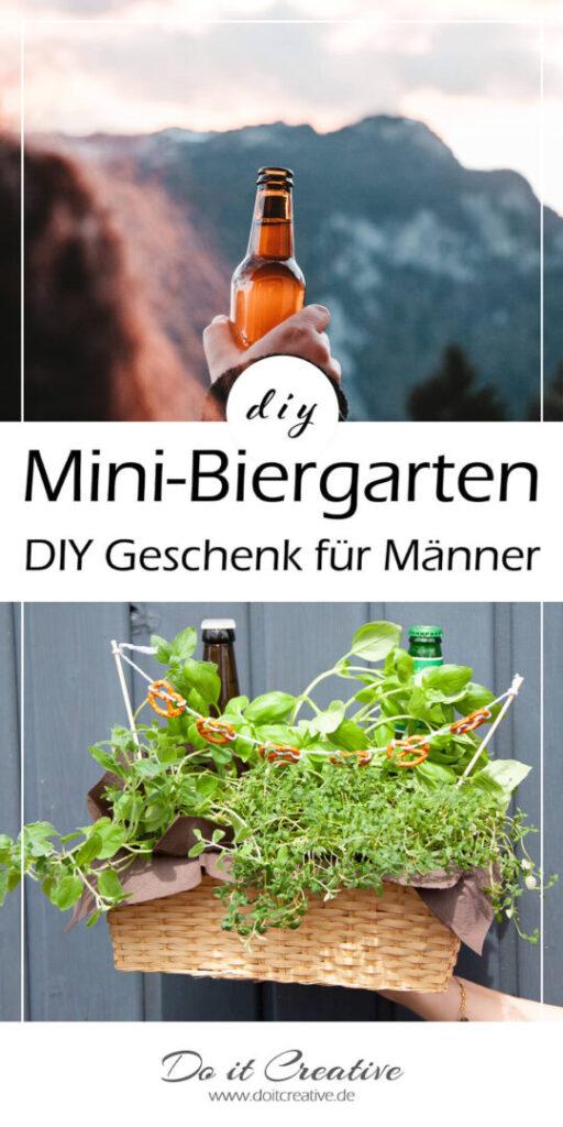 Pin mich – Mini-Biergarten als DIY Geschenk für Männer