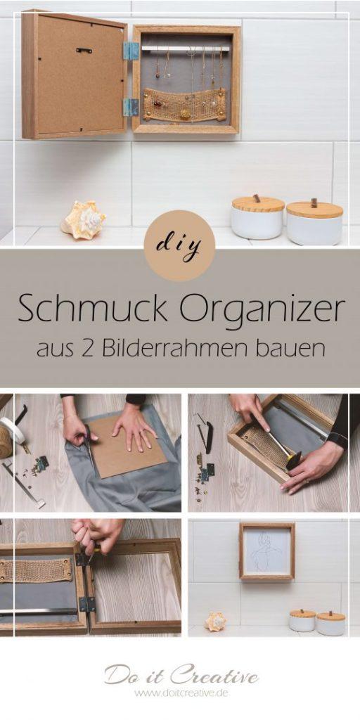 Schmuck Organizer selber bauen