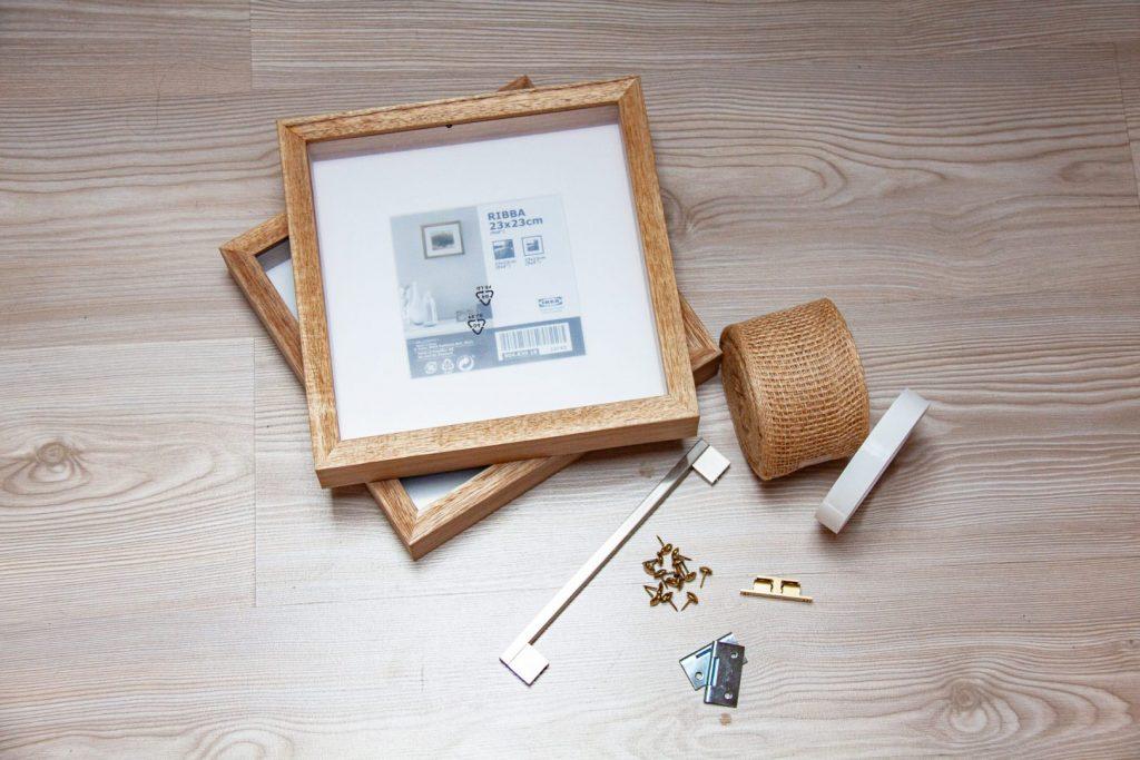 Material für deinen DIY Schmuck Orgnizer